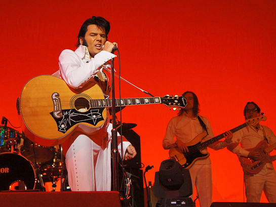 2nd February | The World Famous Elvis Show One Night Break