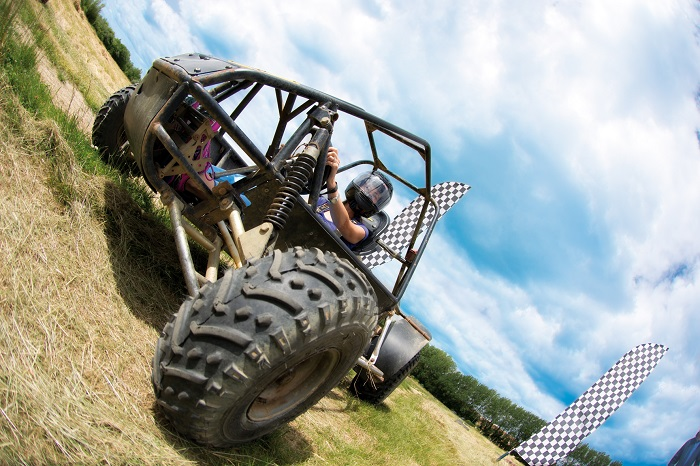 Enjoy the Rally Karts at Potters