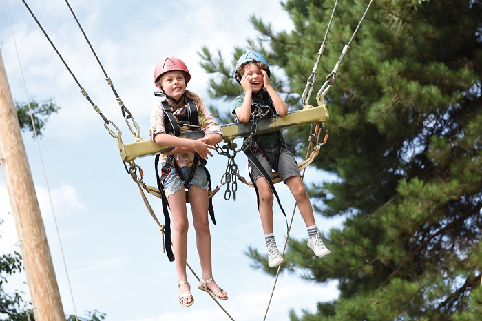There are lots of activities on Resort this summer