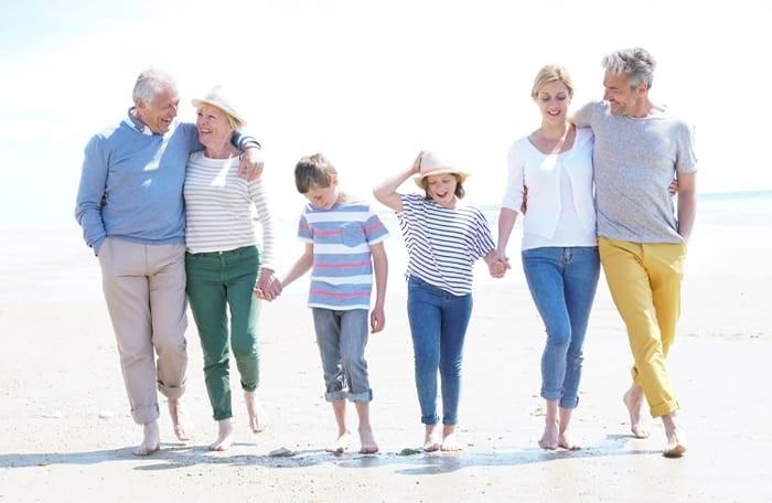 Enjoy a multi-generational holiday