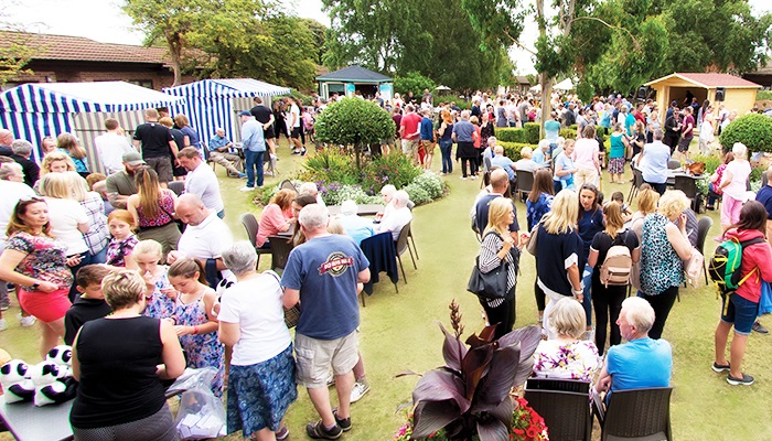 Crowds at the Street Fayre